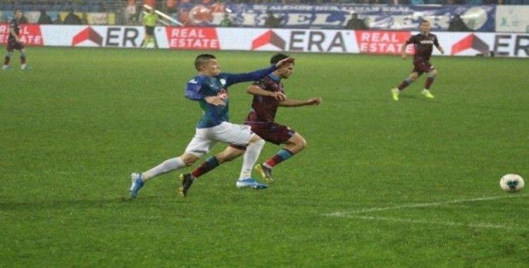 Süper Lig: Çaykur Rizespor: 1 - Trabzonspor: 2 (Maç sonucu)
