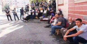 HDP önündeki ailelerin evlat nöbeti 34'üncü gününde