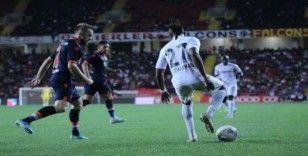 Süper Lig: Gaziantep FK: 1 - Medipol Başakşehir: 1 (İlk yarı)