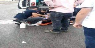 Yolun karşısına geçerken aracın çarptığı yaya öldü