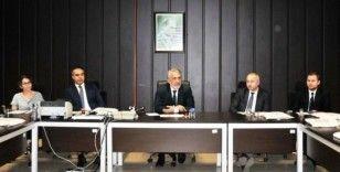 Rektör Bilgiç yeni atanan akademisyenlerle buluştu