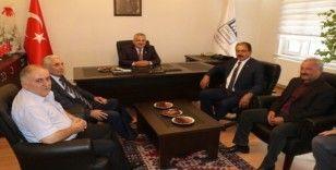 Esnaf temsilcilerinden Boyraz'a hayırlı olsun ziyaret