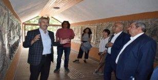 Belediye başkanları  Arapgir'i gezdi