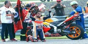 MotoGP'de şampiyon yine Marc Marquez