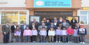 Şehit Neşet Gök İmam Hatip Ortaokulu açıldı