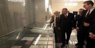 Cumhurbaşkanı Erdoğan Sırbistan'da arşiv sergisini gezdi