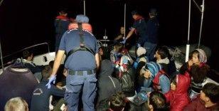 Didim'de 2 günde 128 düzensiz göçmen yakalandı