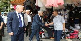 Battalgazi Belediye Başkanı Osman Güder, esnafları ziyaret etti