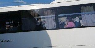 Manavgat'ta tur midibüsü tur otobüsüne arkadan çarptı : 6 yaralı