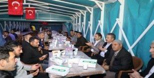 Başkan Palancıoğlu, taziye ziyaretinde bulundu