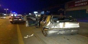 Ankara'da zincirleme trafik kazası: 2'si çocuk, 4 yaralı