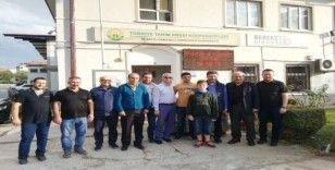 Genel Müdür Poyraz'dan Başkan Şahin'e ziyaret