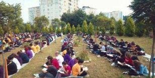 Öğrenciler kitap okuma etkinliği düzenledi