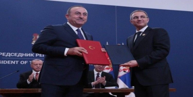 Türkiye ve Sırbistan'dan 9 anlaşma
