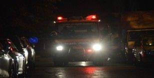 Bakırköy'de aynı evde kalan iki kişi tartıştıktan sonra evde yangın çıkardı