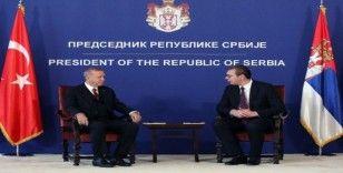Cumhurbaşkanı Erdoğan, Sırp mevkidaşı Vuviç ile görüştü