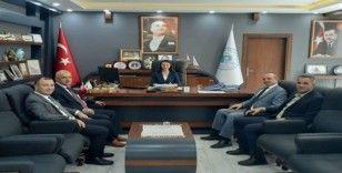 Başkan Tekin'e hayırlı olsun ziyaretleri