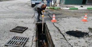 Karabük'te altyapı çalışmaları