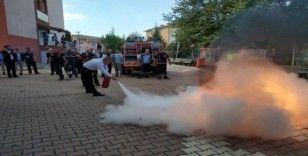 AFAD'tan kaymakamlıklara yangın eğitimi