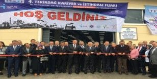 Tekirdağ Kariyer ve İstihdam Fuarı açıldı