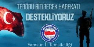 Samsun Memur-Sen'den 'Barış Pınarı Harekatı'na tam destek