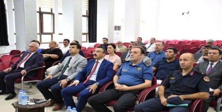 Milas'ta 'Güvenli Okul' toplantısı düzenlendi