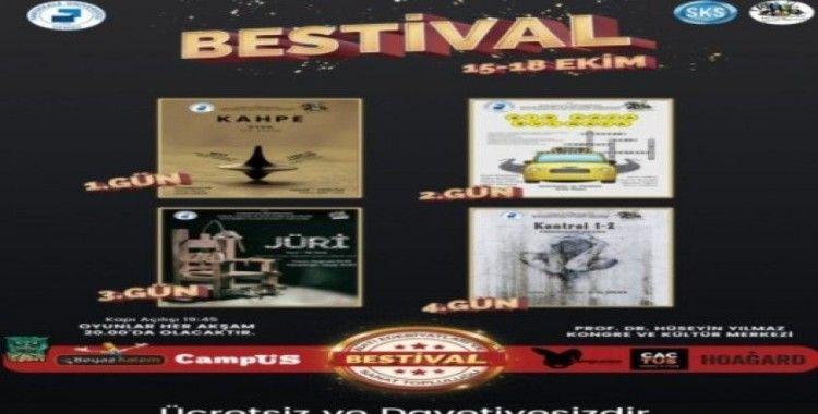 Pamukkale Ünivertesi'nde tiyatro şenliği 'BESTİVAL' başlıyor