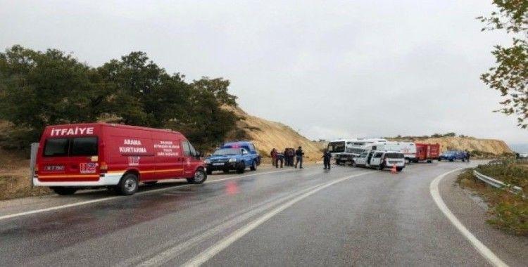 Balıkesir'de trafik kazası 5 yaralı