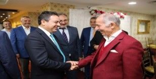 Başkan Aydıner din görevlileriyle yemekte bir araya geldi