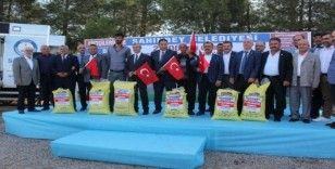 Şahinbey'den çiftçilere 2 bin ton gübre dağıtımı