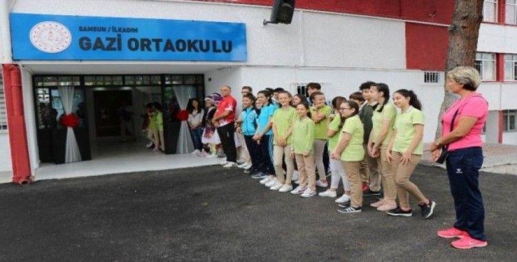 Samsun'da okul ve derslik yatırımları sürüyor