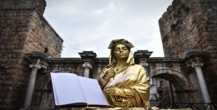 Kaleiçi Festivali'nde Plancia Magna'nın canlı heykeli yapılacak