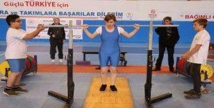 Nevşehir'de Görme Engelliler Halter Türkiye Şampiyonası başladı