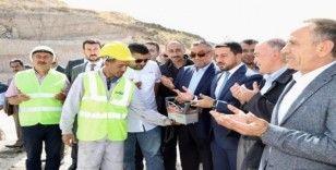 Nevşehir'in su sorununu çözecek depoların temeli atıldı