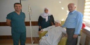 Hakkari'den geldi Bitlis'te sağlığına kavuştu