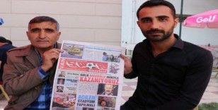 Van'ın ilk spor gazetesi yayın hayatına başladı