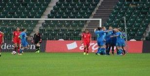 Kadınlar Avrupa Futbol Şampiyonası Elemeleri: Türkiye: 0 - Slovenya: 5 (İlk yarı)