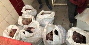 Halk sağlığını tehdit eden 500 kg kırmızı et ele geçirildi