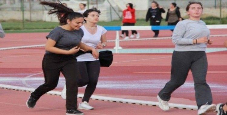 Sivas'ta atletizm heyecanı
