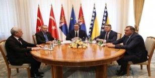 Erdoğan, Türkiye-Sırbistan-Bosna Hersek Üçlü Zirve Toplantısı'na katıldı