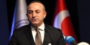 """Dışişleri Bakanı Çavuşoğlu: """"Sahada da masada da güçlü Türkiye'yiz hamd olsun"""""""