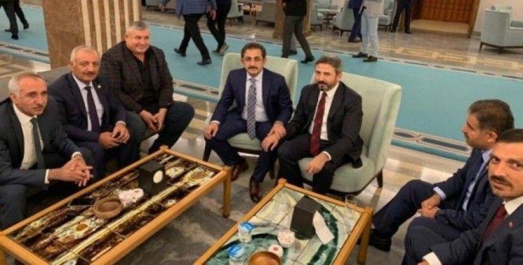 Adıyaman Ziraat Odaları Ankara'da