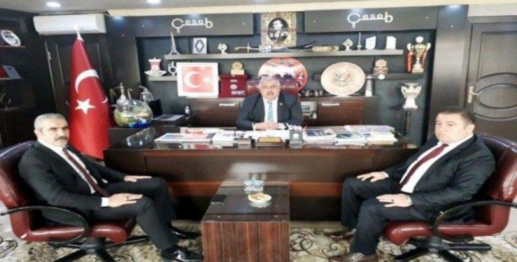 MHP İl Başkanı Karapıçak'tan Gür'e iade-i ziyaret