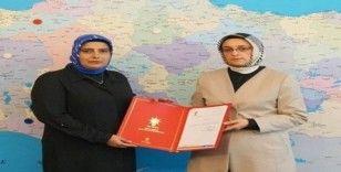 Avukat Rahşan Külünk AK Parti Erzincan kadın kolları başkanlığına atandı