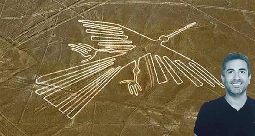 Nazca çölü çizgileri..