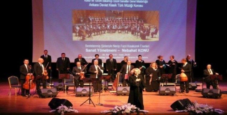 Ankara Devlet Klasik Türk müziği korosu NEVÜ'de sahne aldı