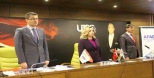 Uşak'ta 'TAMP' kapsamında masa başı tatbikatı gerçekleştirildi