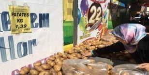 Enflasyonun düşmesi ve manipülasyonların sona ermesiyle sebze meyve fiyatları dibi gördü