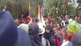 Ekvador'da sokağa çıkma yasağı ilan edildi