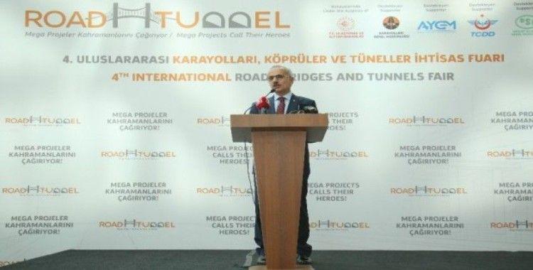 """Bakan Turhan: """"Türkiye 4 saatlik uçuş mesafesi ile 1,6 milyar nüfusu olan 30 trilyon dolarlık pazara ulaşabilmektedir"""""""